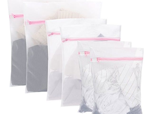 Set of 6 Deluxe Laundry Wash Bags$7.64