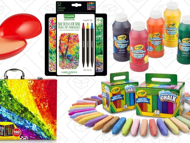 Find Your Creative Side With Amazon's One-Day Crayola Sale, Just In Time For Easter
