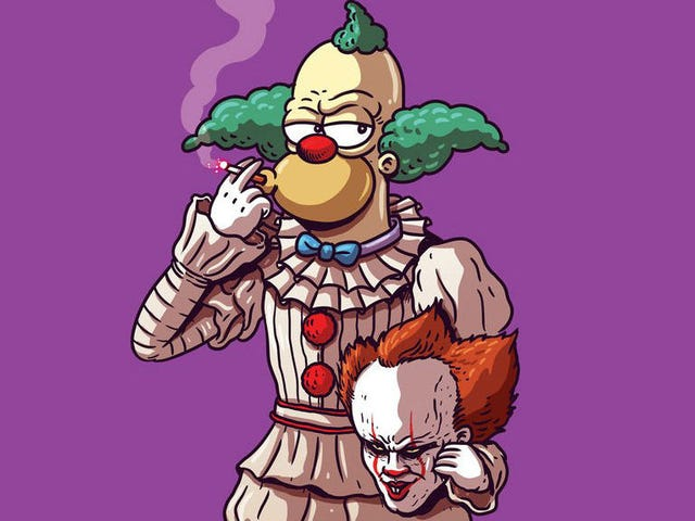 Pennywise Is Krusty? Pikachu Is Blanka? Pop Culture Icons Cross Over in a New Art Show