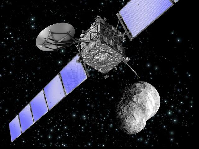 Ο El fin de Rosetta επιτέθηκε: ο εξερευνητής έφτασε στην Κοπετά 67P en septiembre
