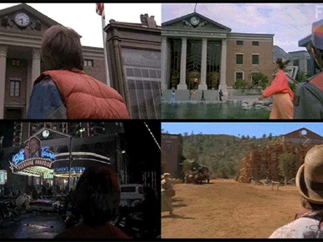 Compare All the Different Hill Valleys in Back to the Future