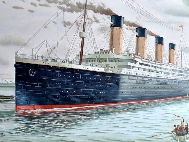 La réplica china del Titanic zarpará da el 2018, det är ett interiör med en original design