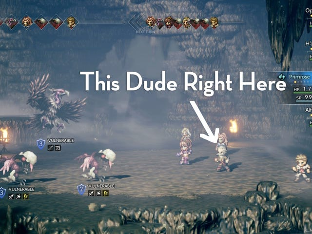 Octopath Traveler's Best NPC Is This Reclusive Old Man