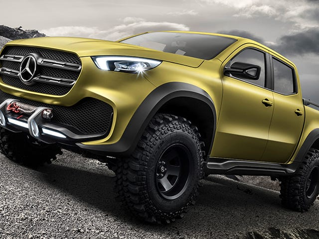 Why Everyone's Going Nuts Over The Mercedes Pickup Truck: An Explainer