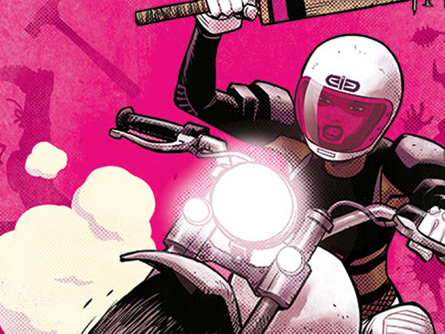 The 'Batgirl of Burnside' Team Reunites for a New Comic About Badass Racers and Bike Warriors