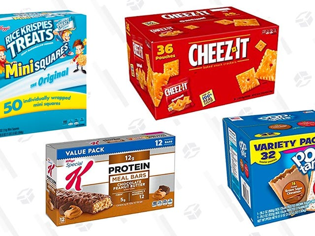 Stock Up on Bulk Boxes of Snacks At 30% Off