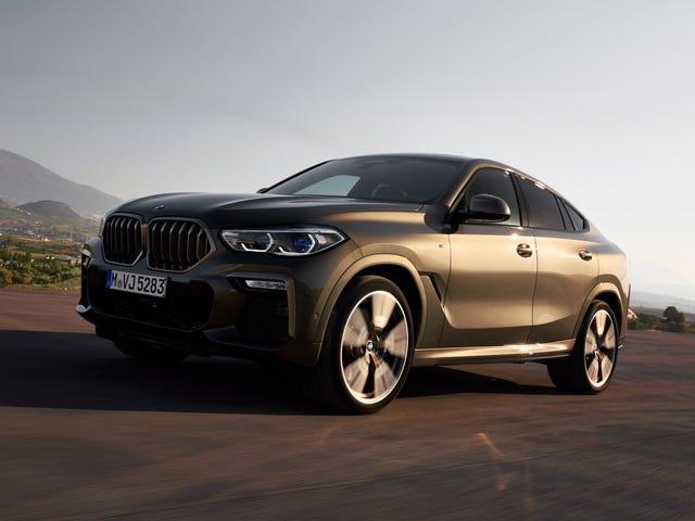 El BMW X6 2020 finalmente tiene la parrilla renal iluminada por la que has estado rogando
