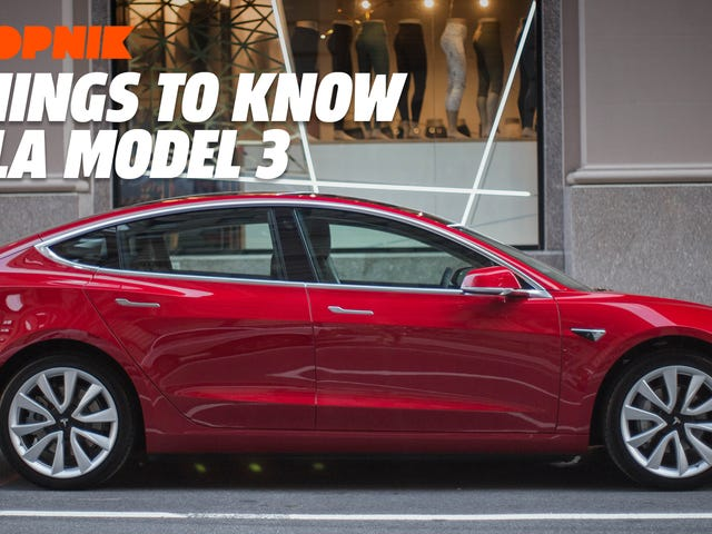 Five Things to Know About the Tesla Model 3