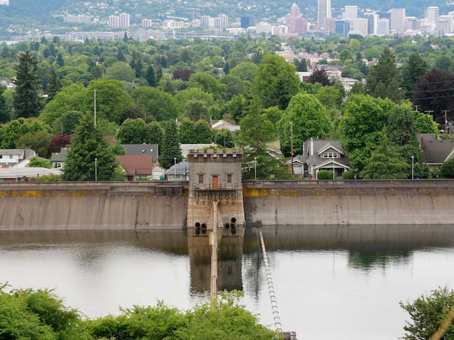 Portland's Draining An Entire Reservoir Because One Dude Peed In It