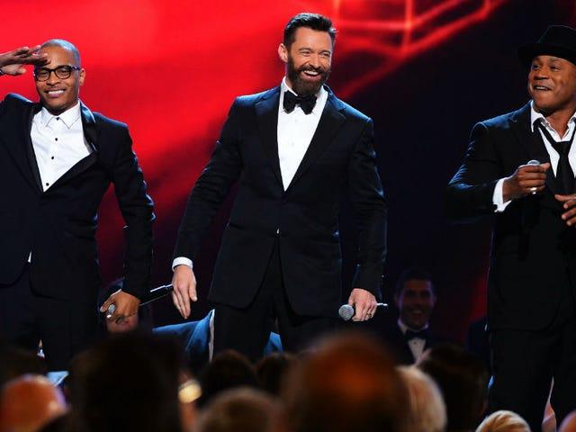 TI, Hugh Jackman and LL Cool J Did a Rap Version of 'The Music Man'