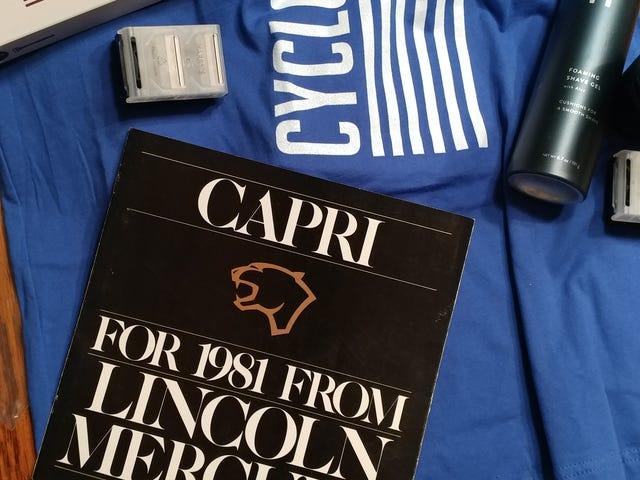 Secret Senna gift arrived!