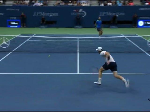 Si Andy Murray ay Hindi Nakasalubong Ni Loud-Ass Rain