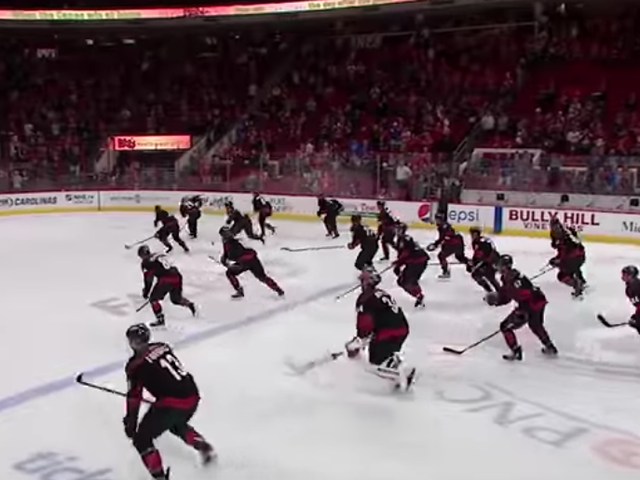 The Hurricanes' Victory Celebration Rules