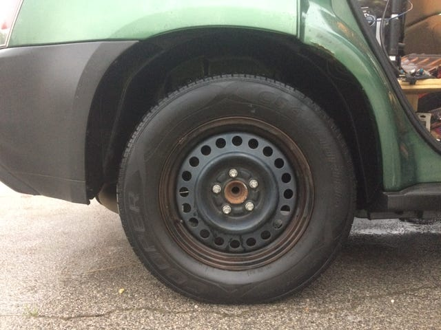 These tires are loud.
