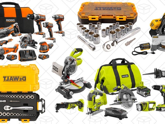 Save Up To 40% Off Select Tools From Home Depot, Today Only