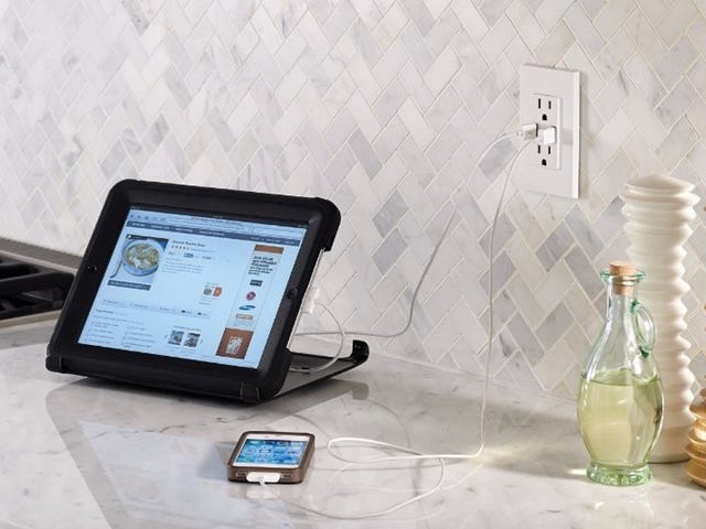 Add Fast USB Ports To Your Power Outlets For Under $20 Per Receptacle