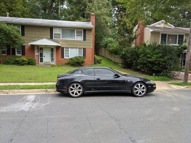 New car in the neighborhood