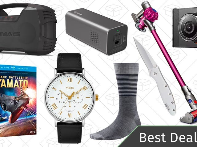 """<a href=""""https://kinjadeals.theinventory.com/wednesdays-best-deals-anime-blu-rays-portable-battery-1823949937"""" data-id="""""""" onClick=""""window.ga('send', 'event', 'Permalink page click', 'Permalink page click - post header', 'standard');"""">Wednesday's Best Deals: Anime Blu-rays, Portable Battery Pack, Smartwool Socks, and More</a>"""