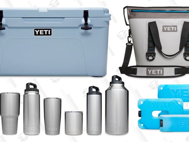 Grab A Very Rare Discount On Select YETI Coolers and Drinkware