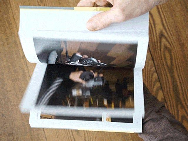 Ta księga niezliczonych kamer jest ode do frajerów zdjęć analogowych
