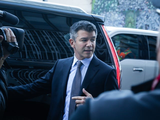 Travis Kalanick Is Gonna Be an Investment Fund Guy Now