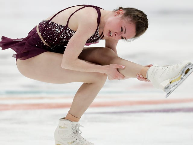 A Figure Skater Has Been Accused of Purposefully Slashing a Rival's Calf With Her Skate Blade