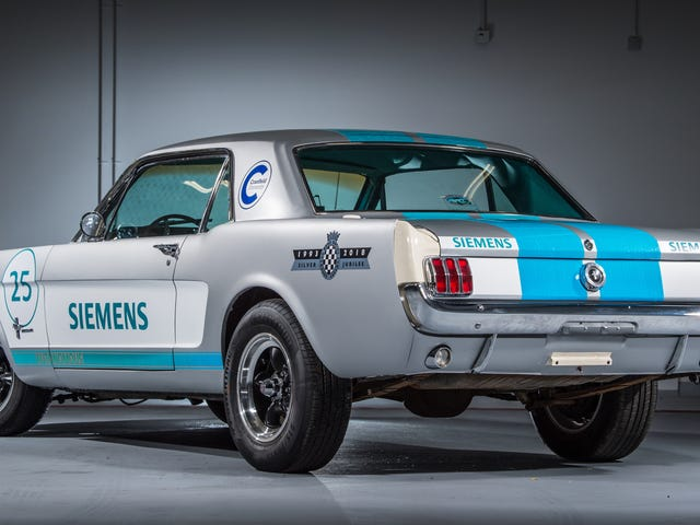 Self-Driving 1965 Ford Mustang Plans Attack On Goodwood Hillclimb
