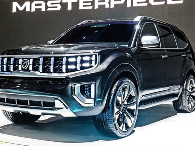 Kia Naming Its Concept SUV 'Masterpiece' Is a Bit Rich