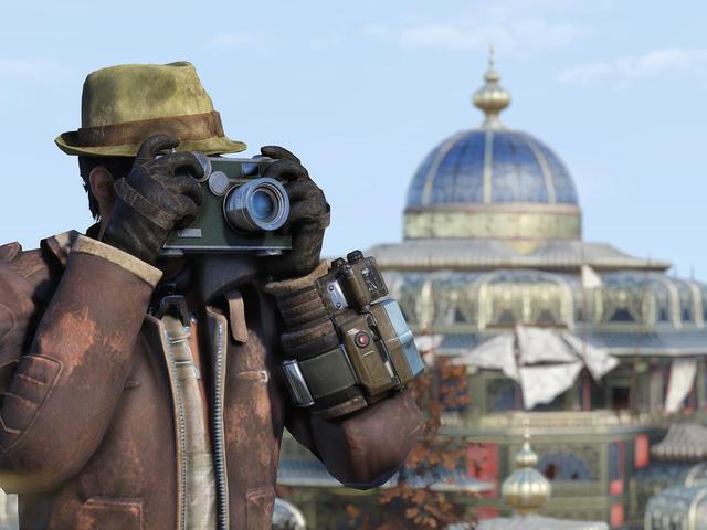 Fallout 76 mendapat pembaruan baru minggu ini dengan menambahkan kamera manual dalam game