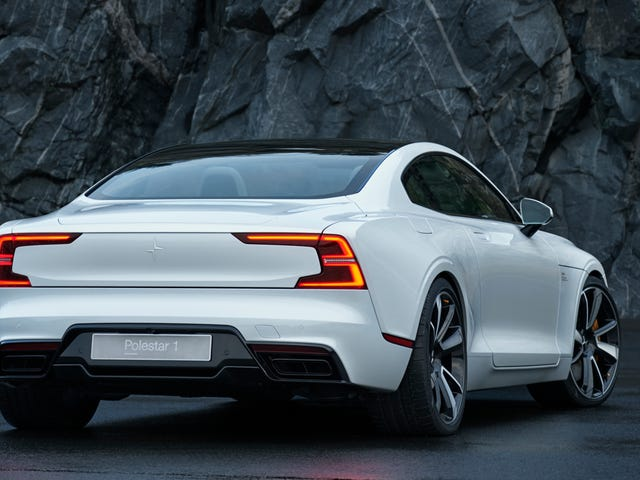 The Polestar 1 Will Trim 500 Pounds Thanks To A Lot Of Carbon Fiber