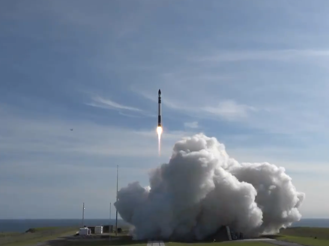 Rocket Lab Completes First Commercial Launch of Its Electron Rocket