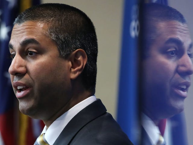 Ajit Pai Just Got His Second 'Courage' Award of the Year