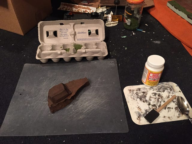 Lald Diorama 101: Adding Ground Foam
