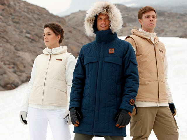 Columbia's New Empire Strikes Back Jackets Will Keep You Warmer Than a Dead Tauntaun