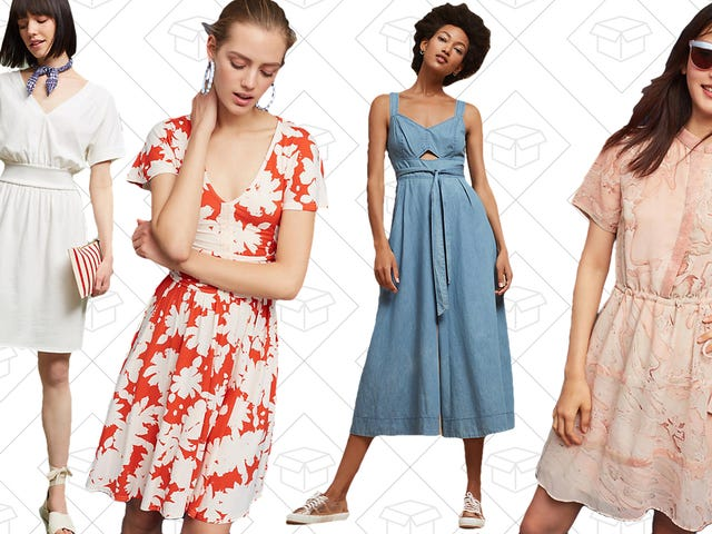 Get 20% Off Dresses and Jumpsuits at Anthropologie