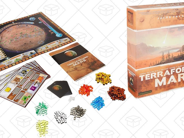 If You Don't Want to Live On This Planet Anymore, Terraforming Mars Is the Perfect Board Game