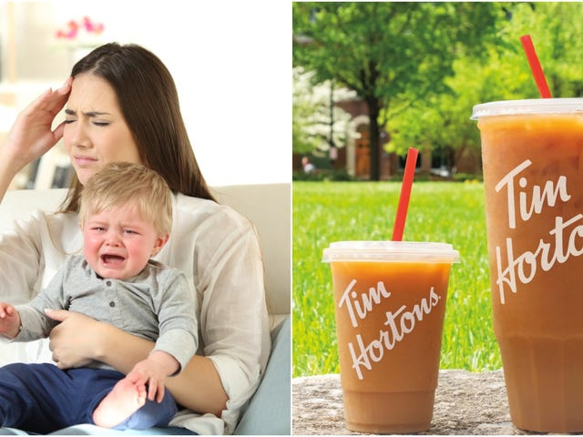 """""""Kawa w rozmiarze mama"""" Tima Hortonsa: w końcu przemyślany darmowy chwyt"""