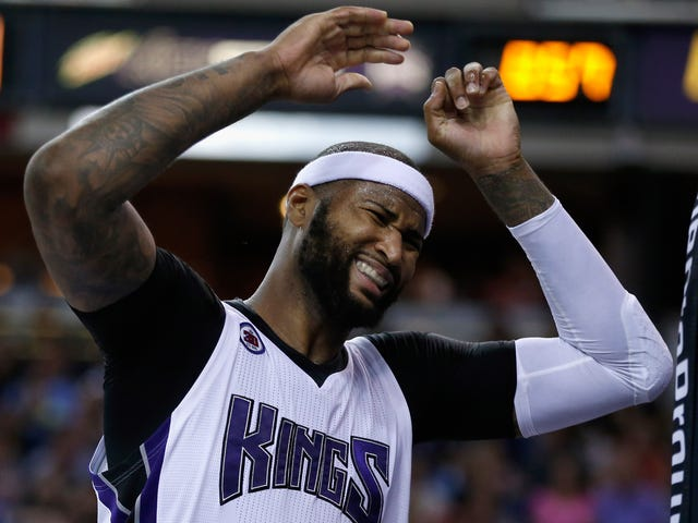 Sacramento Kings Center DeMarcus Cousins Is Having the Weirdest Couple of Weeks Ever