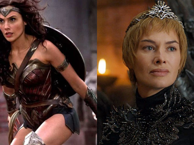 Naturally, No One Could Stop Talking About Wonder Woman or Game of Thrones This Year