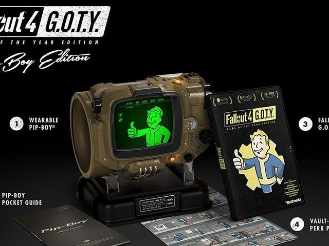 Bethesda sta portando il Fallout 4 Pip-Boy fuori dal Vault, e si può preordinarli adesso