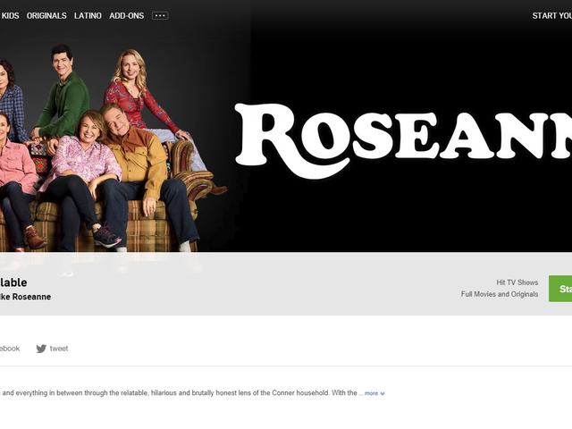 Hulu Scrambles to Pull All Reruns of Roseanne After Star's Racist Tweet