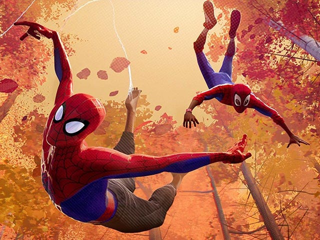 Into the Spider-Verse Looks So Goddamn Great, Sony Wants to Patent It