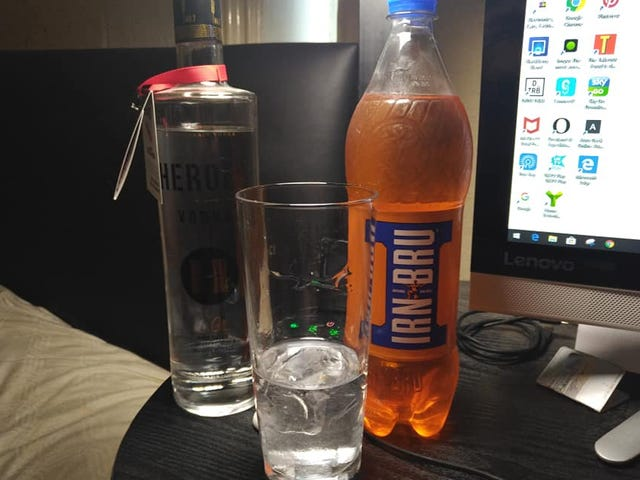 When Irn Bru isn't enough, my Heroes steps in.