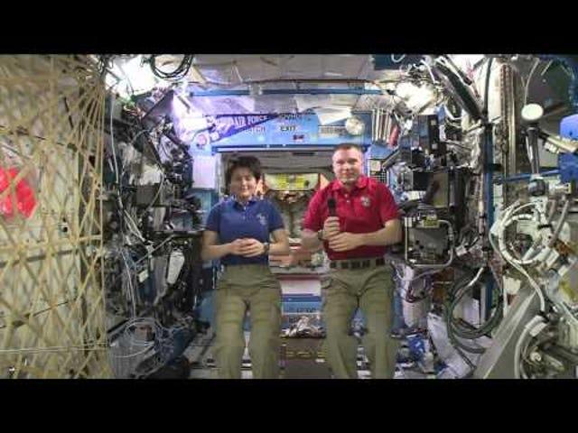 Se ISS Astronauts Geek Out om <i>Star Trek</i>