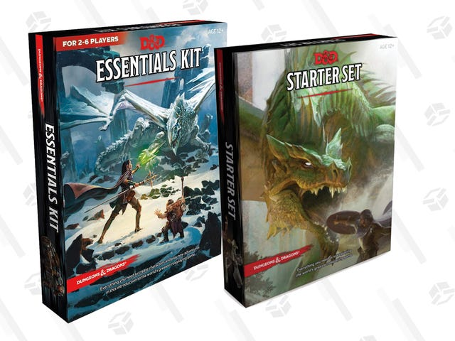 Roll a D20 and Escape to Another World: The D&D Starter Set and Essentials Kit Are on Sale