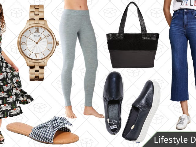 Wednesday's Best Lifestyle Deals: Timex, Smartwool, Shopbop, Keds, and More