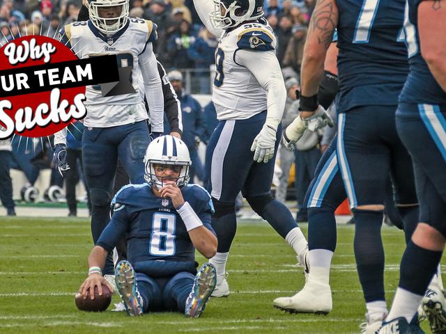Por que sua equipe suga 2018: Tennessee Titans