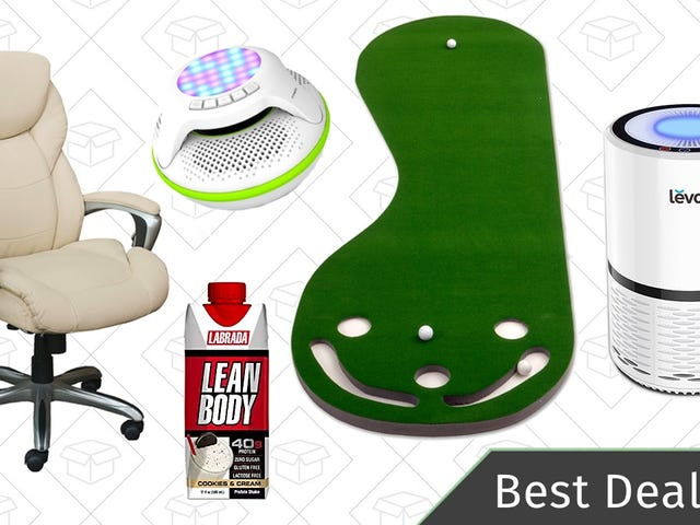 Wednesday's Best Deals: Office Chairs, Sports Equipment, Air Purifier, and More