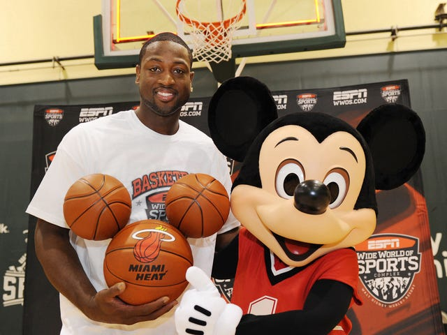 El lugar más feliz de la Tierra podría convertirse en el nuevo hogar de la NBA, gracias a COVID-19