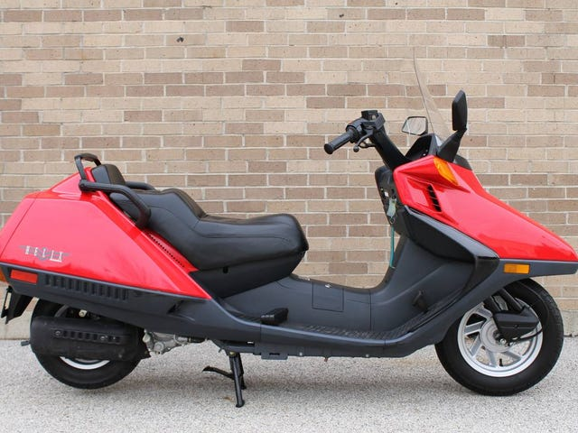 At $2,499, Could This Incredibly Low Mileage 1999 Honda CN250 Helix Get You To Scoot?